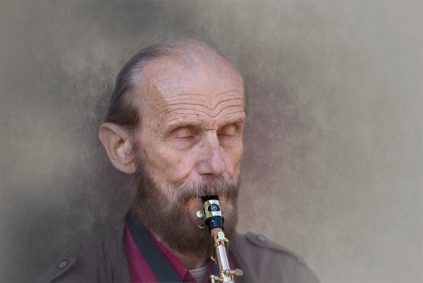 Jazz musician by EddieDaisy