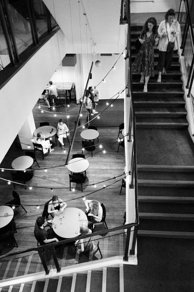 The Cafe below by nclark