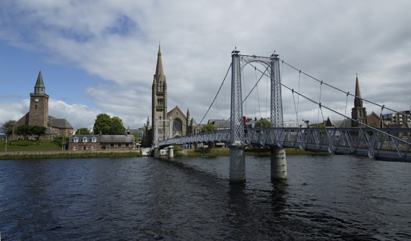 Greig Street Bridge, Inverness. by concept