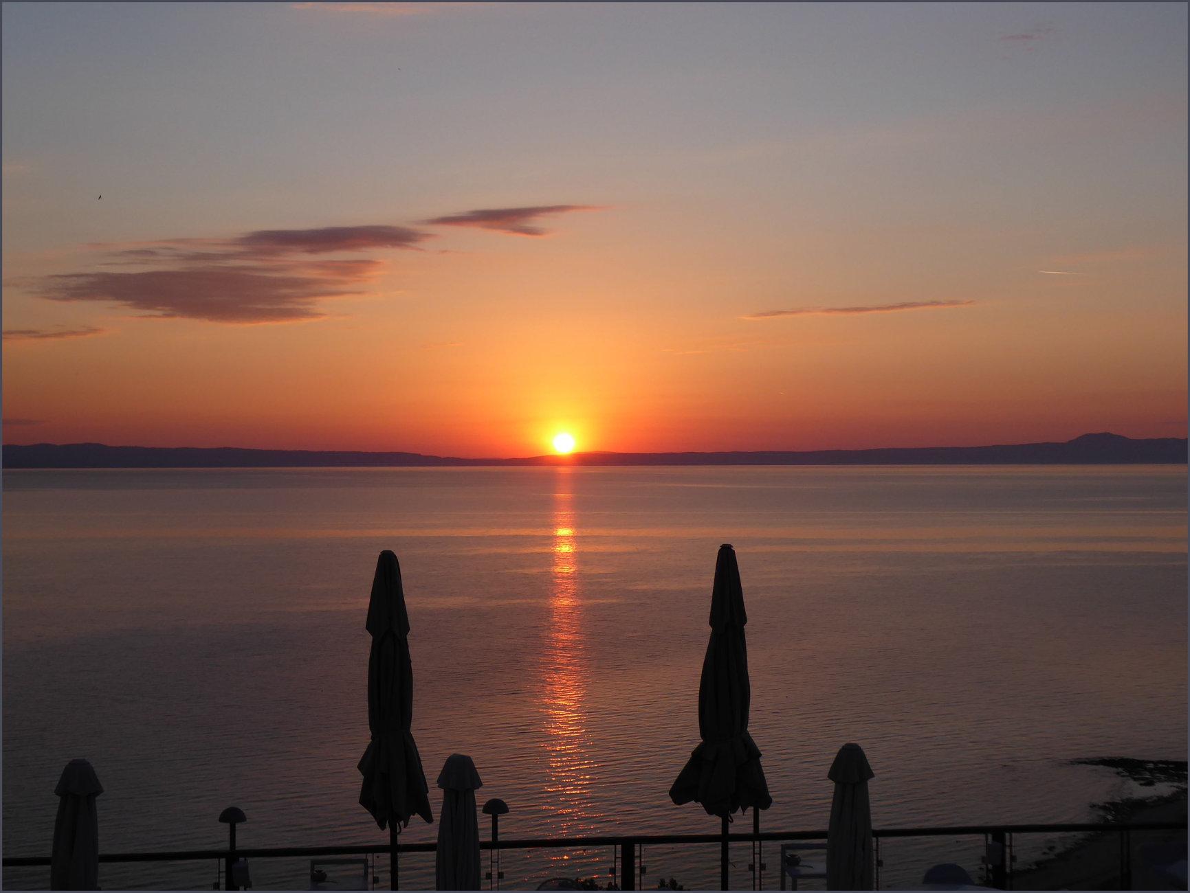 Sunrise in Afitos