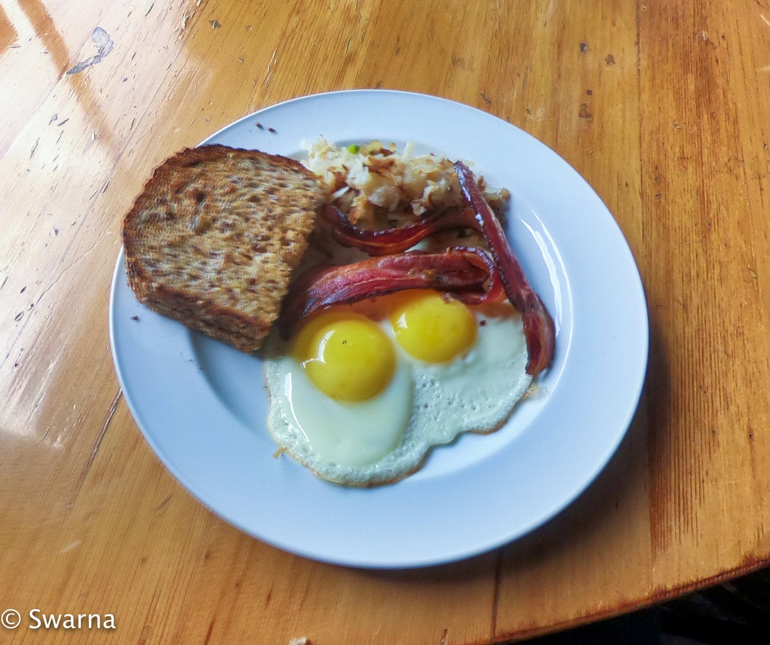 Breakfast time ...