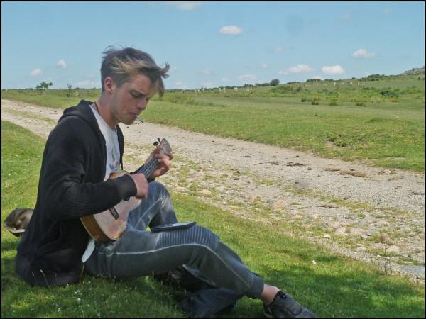 Bodmin Moor - the music man by JuBarney