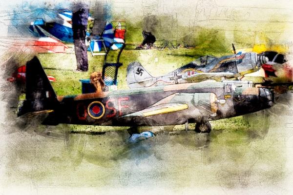 Warplanes by Yellowbear