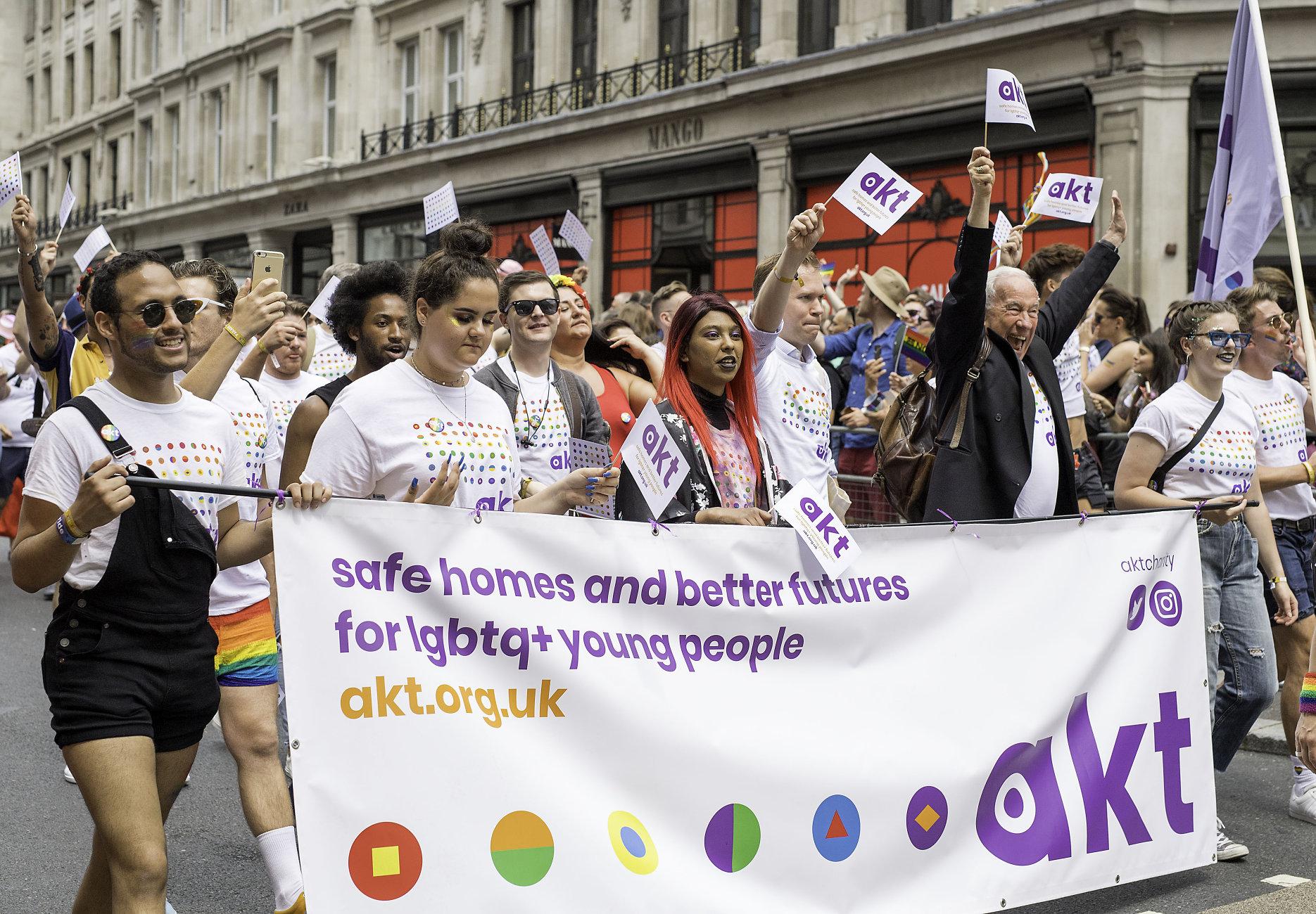 Simon Callow at Pride