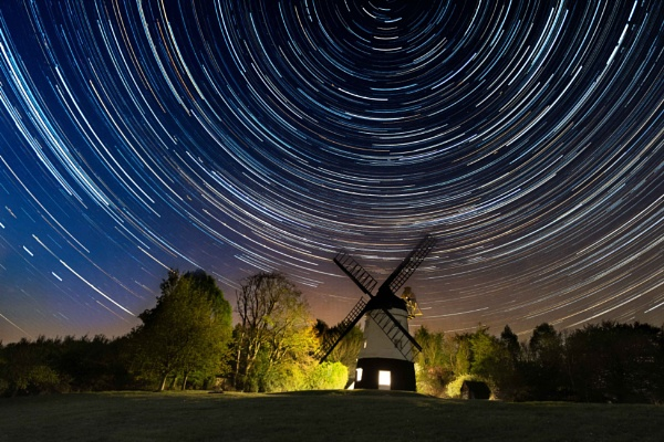 Windmill will star trails by Sulco