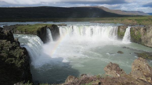 Godafoss Falls, Akuryeri, Iceland by Don20