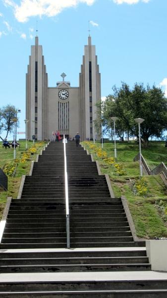 Lutheran Church. Akuyreri. Iceland by Don20