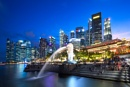 Singapore by night by edrhodes