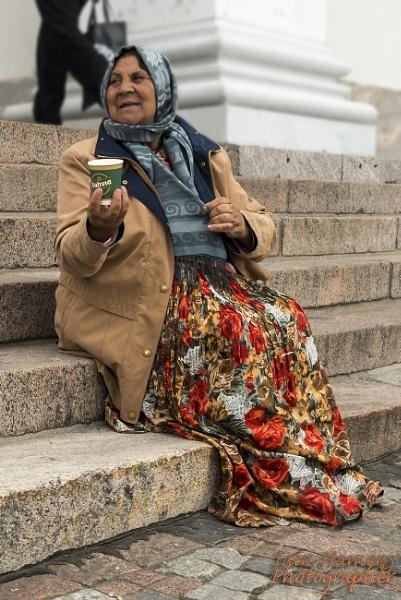 Helsinki Beggar by IainHamer