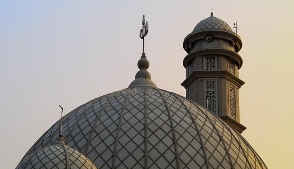 Mosque Jami Al Wiqoyah by Von_Herman