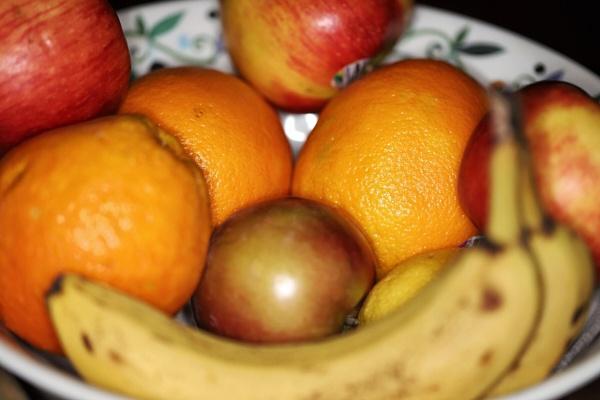 Fruit in a Bowl by Merlin_k