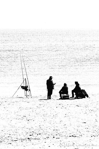 Beach Anglers by Alan_Baseley