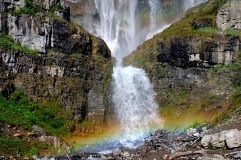 Where the rainbow falls