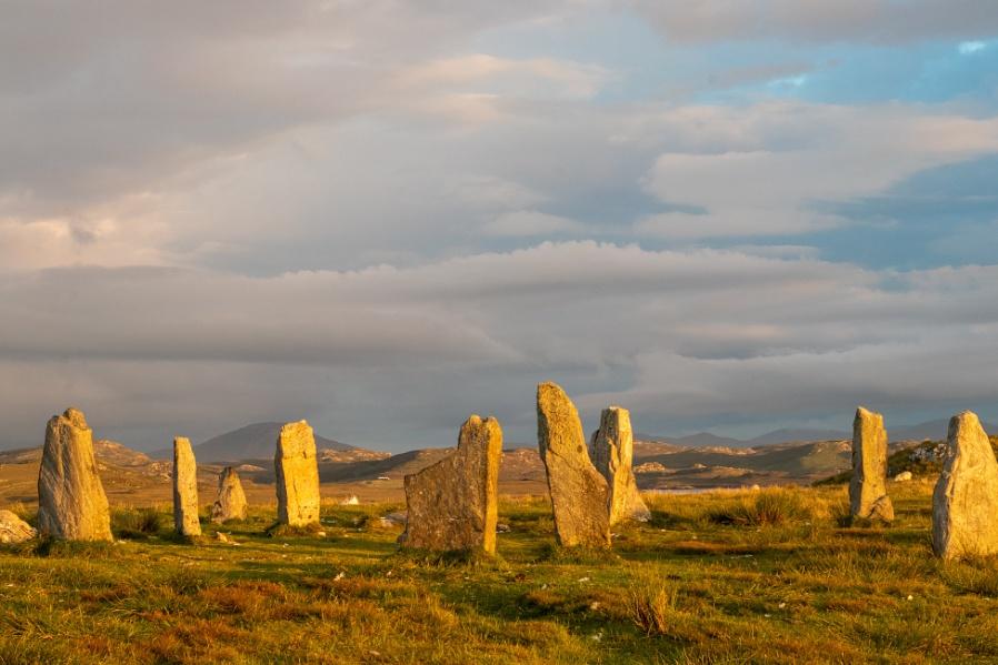 Callanish Stones at Sunset