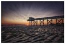 Sunset on the fishing pier by Stevetheroofer