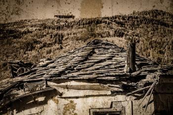 Old broken house