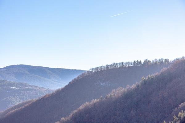 Hills and blue sky by rninov