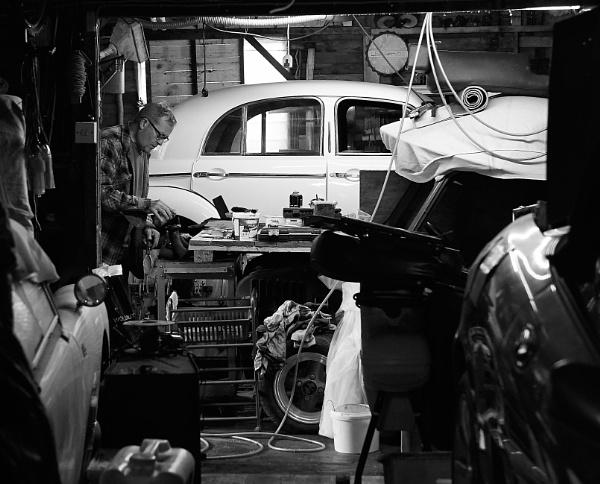 Ian\'s garage by Backabit