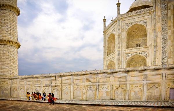 Women together Taj Mahal India by Ron50