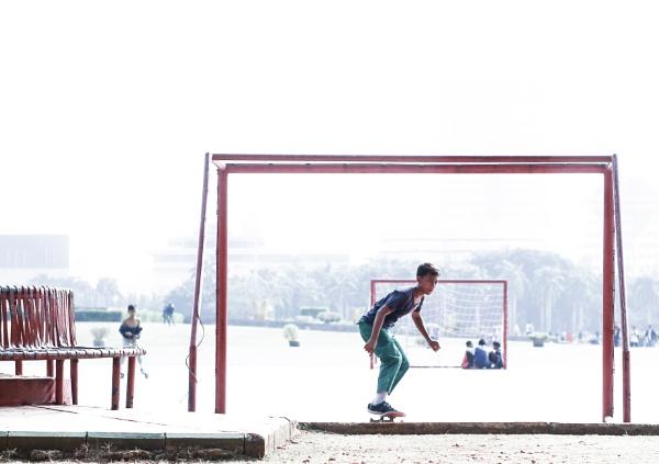 Skateboarding by Von_Herman