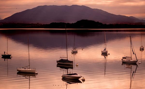 Sunset on Garda by sandwedge