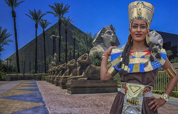 The Luxor Princess by stevenb
