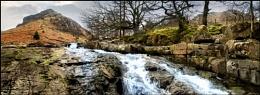 Eagle Crag, Stonethwaite valley.
