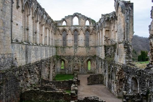 Rievaulx Abbey by lesstow