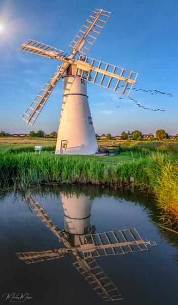 Windmill Summer by DiazSprite