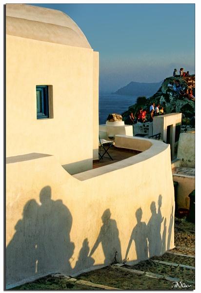 Shadows of Santorini by PatriciaWilson