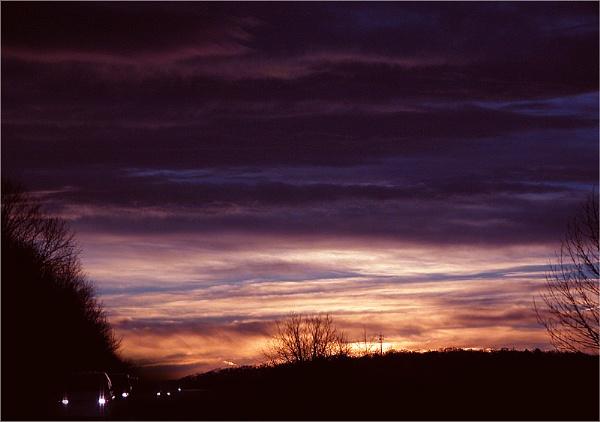I-84 at Sunrise by carmenfuchs