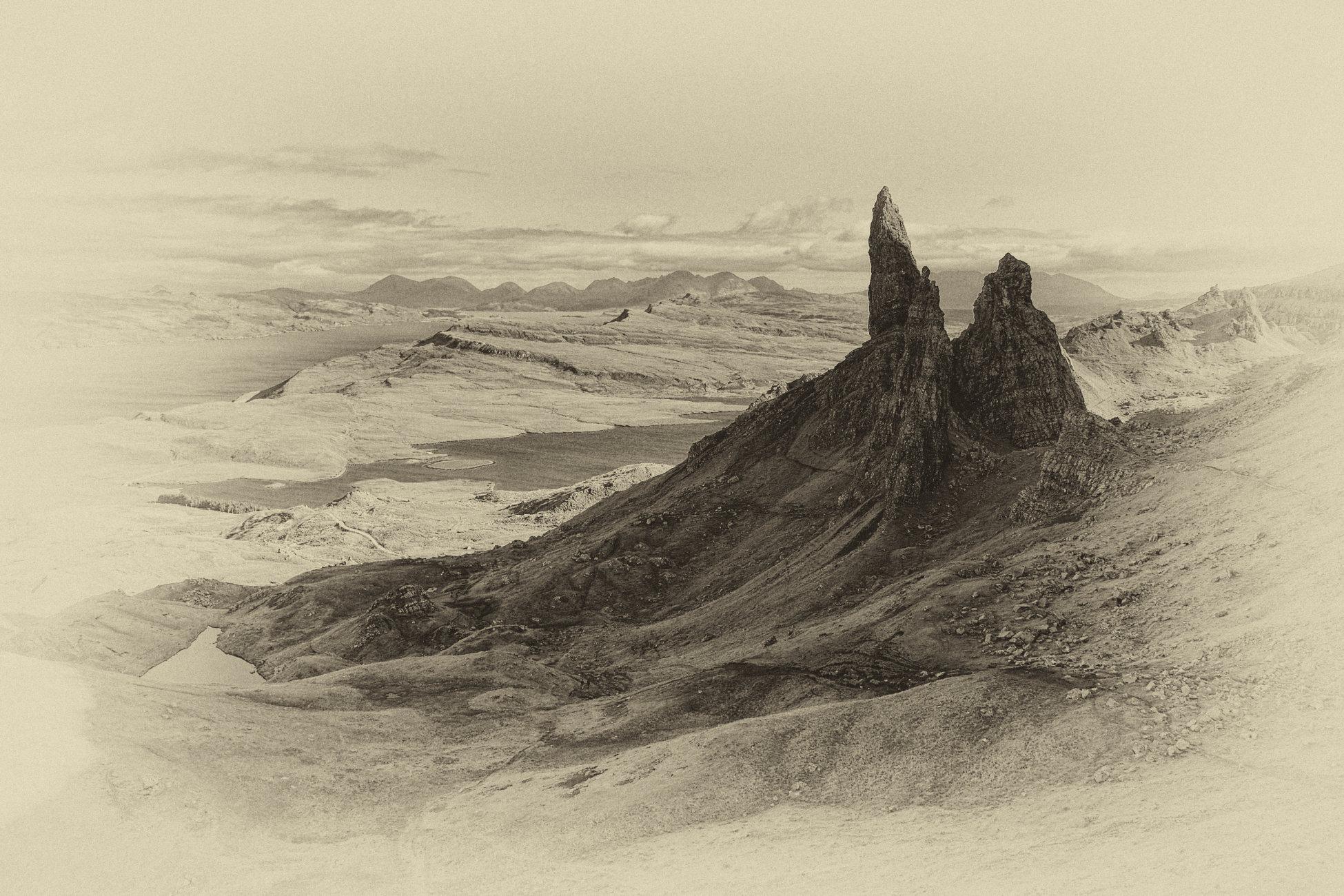 A Hebridean Meandering XLVI - Vision of Skye