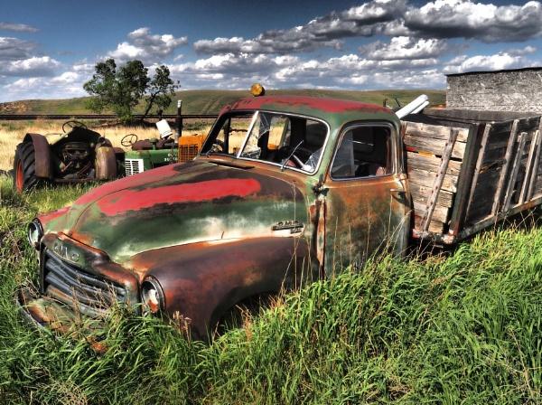 Junkyard truck number three by waltknox
