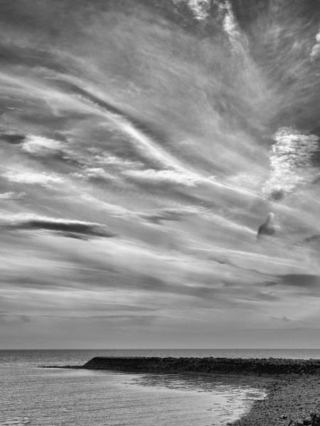 The Breakwater - Garlieston  bay by Backabit