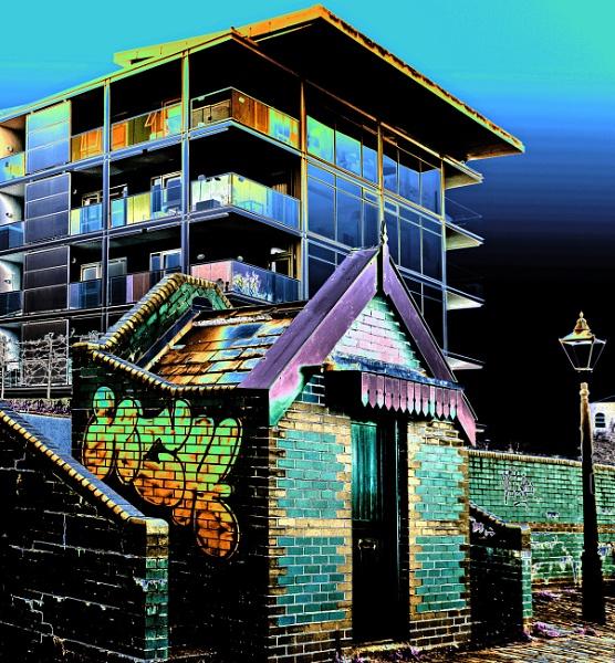 Contrasts - Bristol Docks by starckimages