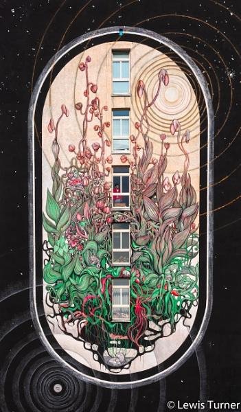 Katowice Mural by lagomorphhunter