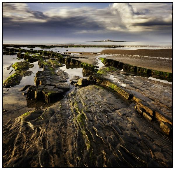 Low Hauxley Low Tide. by mickmarra