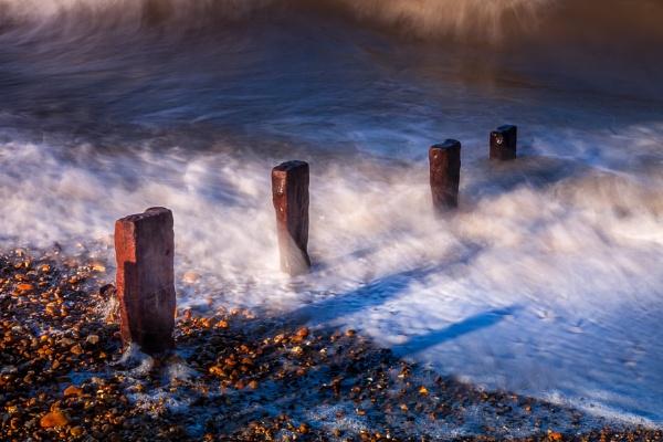 Reculver derelict sea defences by Phil_Bird