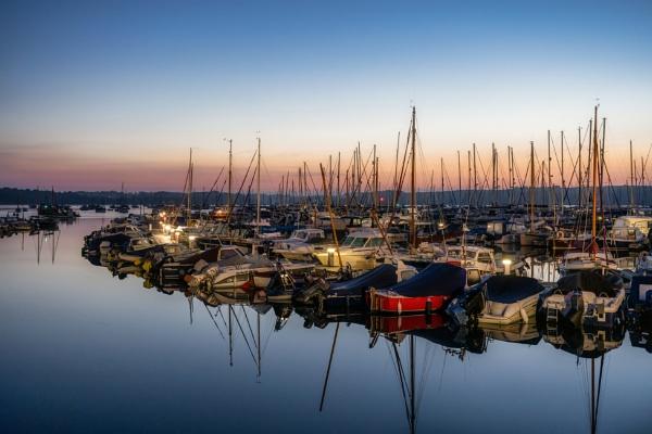 Mylor Yacht Harbour by sunsetskydancer