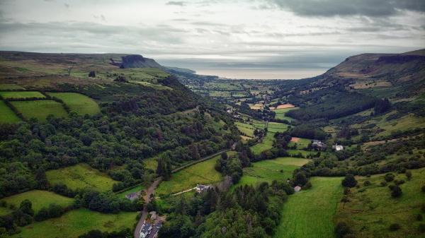 N.Ireland around Glenariff Forest by atenytom