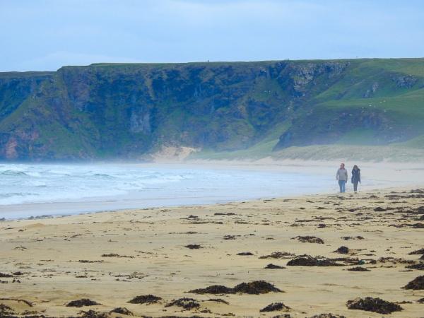 Misty Beach by lesstow