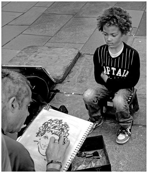 Street Artist by mac