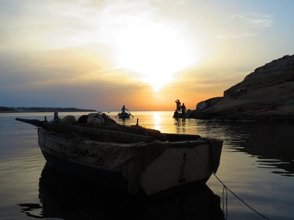 sunset by bulbulov