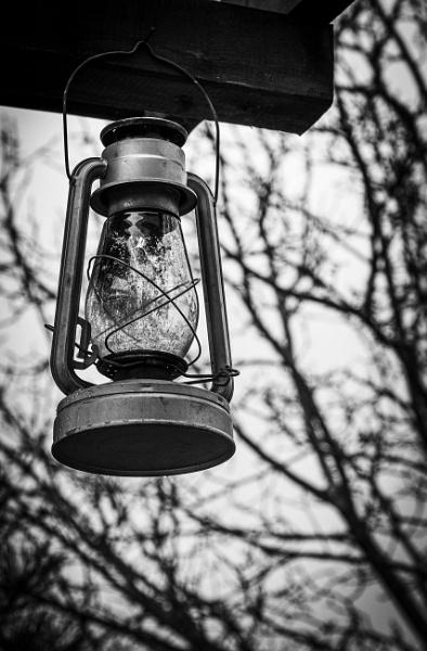 Lamp in the yard by rninov