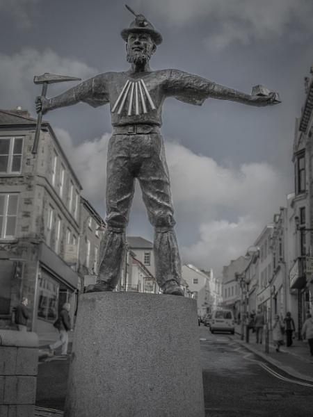 Cornish tin-miner by jacomes