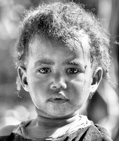 Ethiopian Girl by Backabit