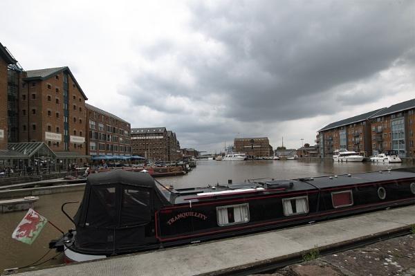 Tranquillity, Gloucester Docks by Janetdinah