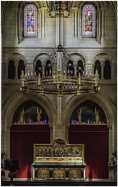 The Corona and Alter Buckfast Abbey Church by ivalyn