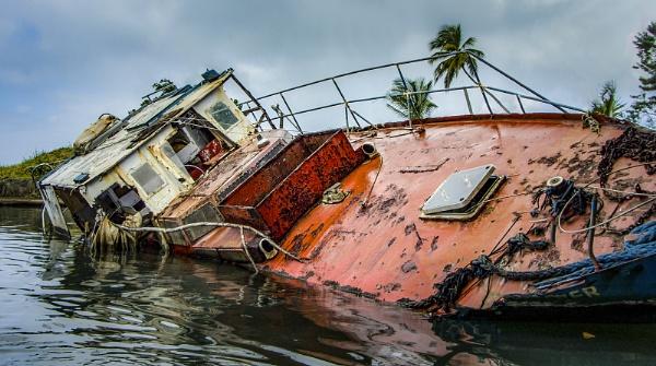 Hurricane  damage by ivalyn