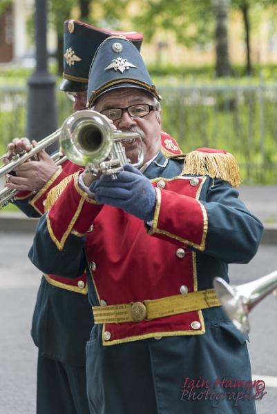 Russian Trumpet player by IainHamer